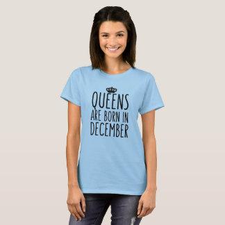 T-shirt Le Queens sont né en décembre