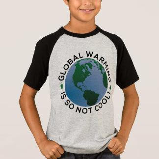 T-shirt Le réchauffement climatique n'est ainsi pas frais