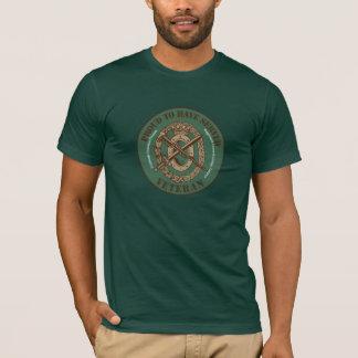 T-shirt Le régiment troupes vétéran médicales