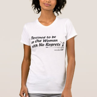 T-shirt Le regret libèrent le destin