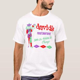 T-shirt Le restaurant de David, Bridgeport, Chicago, IL