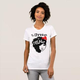 T-shirt Le rétrécissement est T des vraies, naturelles