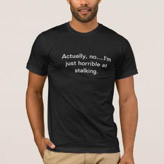 T-shirt Le rôdeur renversé