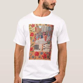 T-shirt Le Roi David et musiciens, du bréviaire