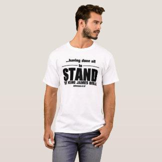T-shirt Le Roi James Bible - pour se tenir !