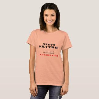 T-shirt Le rythme de sinus est surestimé