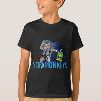 T-shirt Le SciFi Monkeys le logo