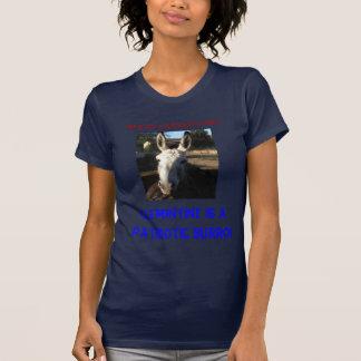 T-shirt le shirtJPG de tia, ceci n'est pas un âne