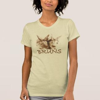 T-shirt Le style de la femme de Bruns