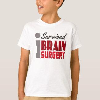 T-shirt Le survivant de chirurgie cérébrale badine la