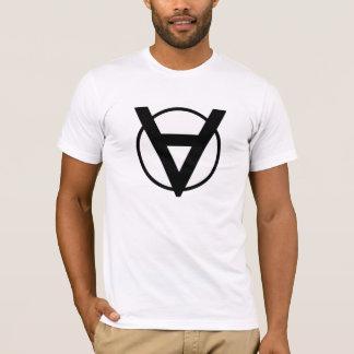 T-shirt Le symbole de héros de Voluntaryists