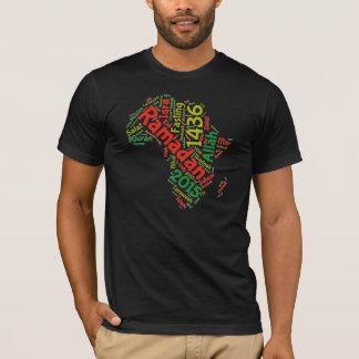 T-shirt Le tee - shirt de 1436 hommes de Ramadan l'Afrique