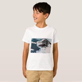T-shirt Le temps est enfant-chemise de extinction