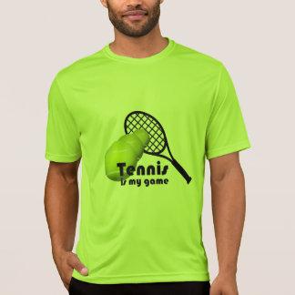 T-shirt Le tennis est Sport-Tek actif de l'usage de mes