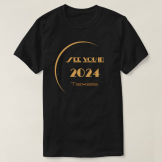T-shirt le Texas d'éclipse