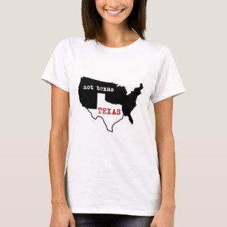 T-shirt Le Texas/pas le Texas