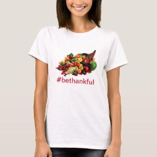 T-shirt Le thanksgiving soit corne d'abondance