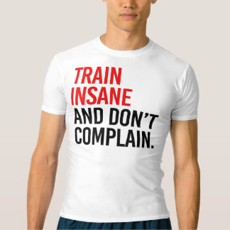 T-shirt Le train aliéné et ne se plaignent pas