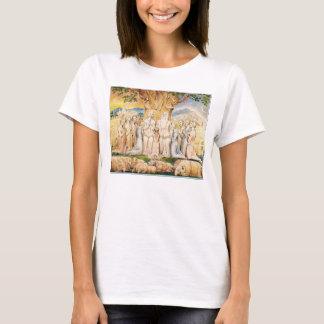 T-shirt Le travail et sa famille par William Blake