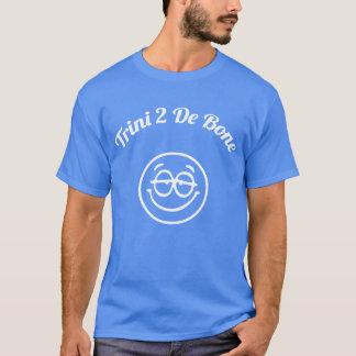 T-shirt Le Trinidad-et-Tobago Trini au smiley d'os