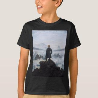 T-shirt Le vagabond au-dessus de la mer du brouillard par