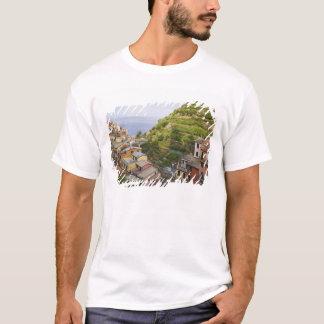 T-shirt le village de flanc de coteau de Manarola-Cinque