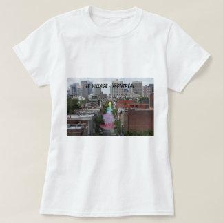 T-shirt Le village gay et la rue Sainte-Catherine
