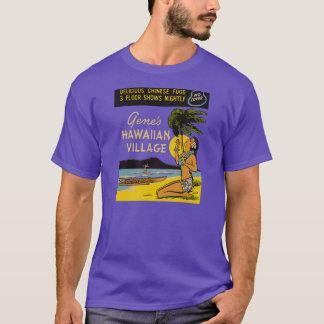 T-shirt Le village hawaïen du gène