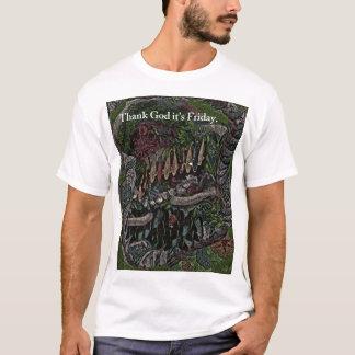 T-shirt Le week-end de Midevil commence ici
