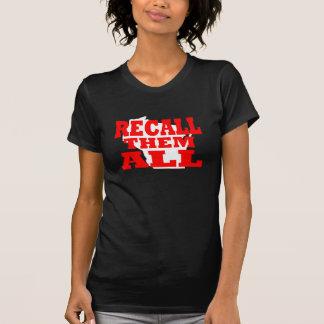 T-shirt Le Wisconsin les rappellent tous
