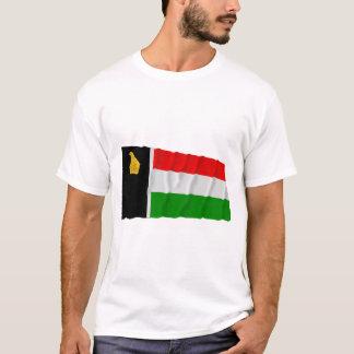 T-shirt Le Zimbabwe Rhodésie ondulant Flag (1979)
