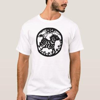 T-shirt Le zodiaque chinois - le cheval