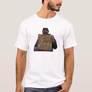 T-shirt Leçons de karaté