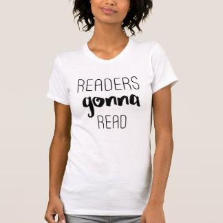 T-shirt Lecteurs allant lire