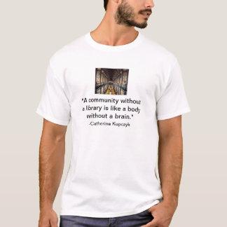 T-shirt Lecture de soutien