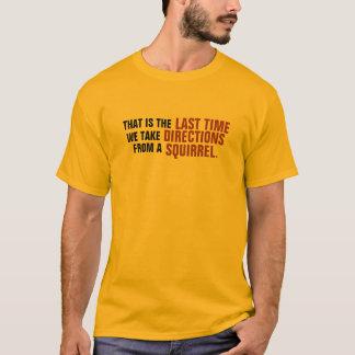 T-shirt L'écureuil