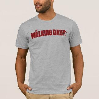 T-shirt L'édition de MARCHE de zombi de chemise de PAPA