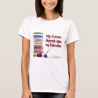 T-shirt L'éducation égale l'avenir