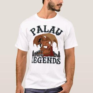 T-shirt Légende de batte de démon des Palaos