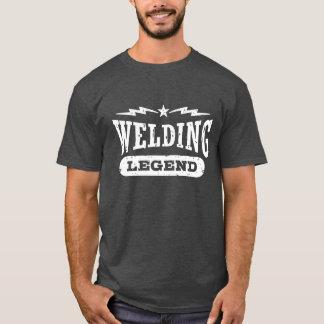 T-shirt Légende de soudure