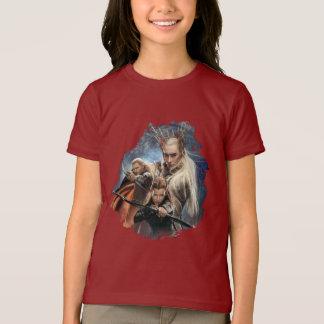 T-shirt LEGOLAS GREENLEAF™, TAURIEL™, et Thranduil