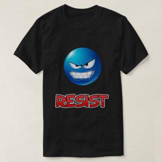 T-shirt l'emoji bleu, résistent