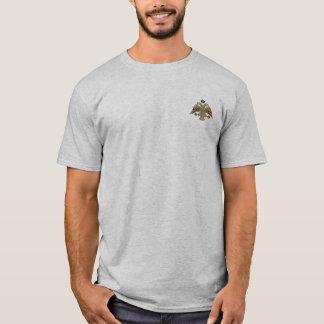 T-shirt L'empire bizantin deux a dirigé la chemise