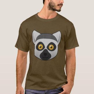 T-shirt Lémur Anneau-Coupé la queue par papier