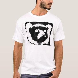 T-shirt Lémur de Ruffed simple