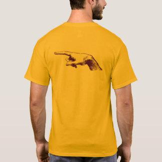 T-shirt Leonardo da Vinci dirigeant le doigt