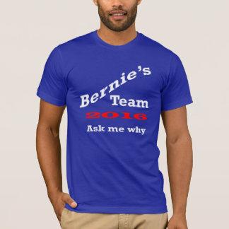 T-shirt L'équipe 2016 des *Bernie demandent