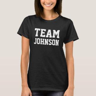 T-shirt L'ÉQUIPE Johnson le personnalisent
