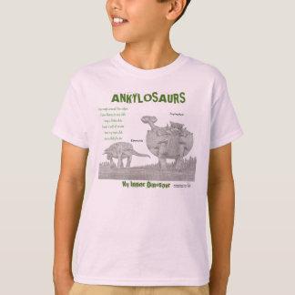 T-shirt Les Ankylosaurs mon dinosaure intérieur badine la