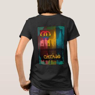 T-shirt Les années 1930 lesbiennes gaies de bâtiment de